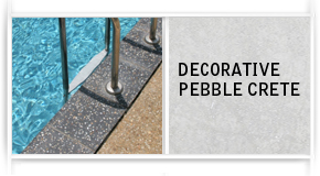 Decorative Pebblecrete